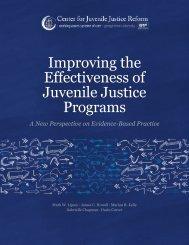 Improving the Effectiveness of Juvenile Justice Programs - Cbjjfl.org