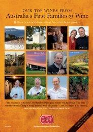 Australia's First Familiesof Wine - The Wine Society