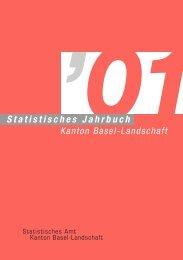 Grafikseiten 2001, 9 kommentierte Grafiken - Kanton Basel-Landschaft