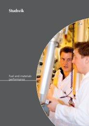 Fuel and materials performance - Studsvik