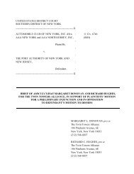 TTA Amicus Brief - The Twin Towers Alliance