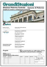 8. Computo metrico (meccanico) (.pdf 396 KB ) - Grandi Stazioni S.p.A.