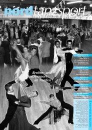 und Spitzensport im Norden - Deutscher Tanzsportverband eV
