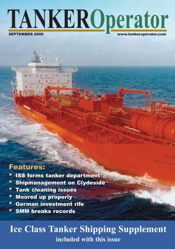 Ice Class Tanker Shipping Supplement - Tanker Operator
