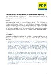 Wahlprüfstein Landesmusikrat Hessen - Hessischer Musikverband