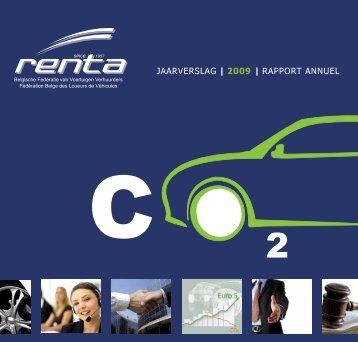 JAARVERSLAG | 2009 | RAPPORT ANNUEL - Renta