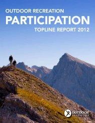 Topline RepoRT 2012 ouTdooR RecReaTion - The Outdoor ...