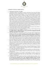 CONDIZIONI GENERALI DI ABBONAMENTO 1. L'abbonamento è ...