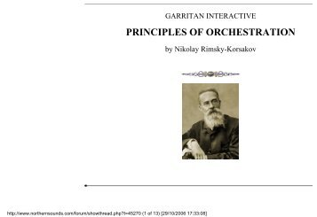 Welcome to the Garritan Interactive PRINCIPLES OF - Synapse Music