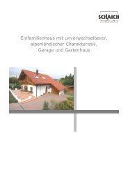 Einfamilienhaus mit unverwechselbarer ... - Hans Jetter