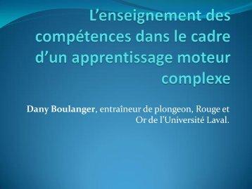 L'enseignement des compétences dans le cadre d'un apprentissage ...