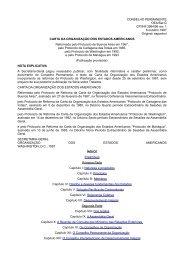 Carta da OEA - Área Administrativa Docente