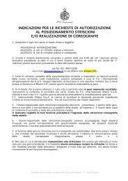 requisiti previsti - Inter
