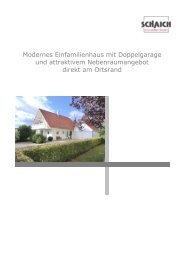 Modernes Einfamilienhaus mit Doppelgarage und ... - Hans Jetter