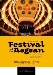 HERMOUPOLIS - SYROS - Festival of the Aegean