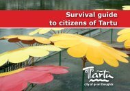Survival guide to citizens of Tartu