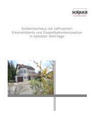 Einfamilienhaus mit raffiniertem Erkerambiente und ... - Hans Jetter