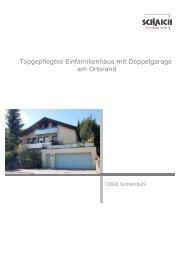 Topgepflegtes Einfamilienhaus mit Doppelgarage am ... - Hans Jetter