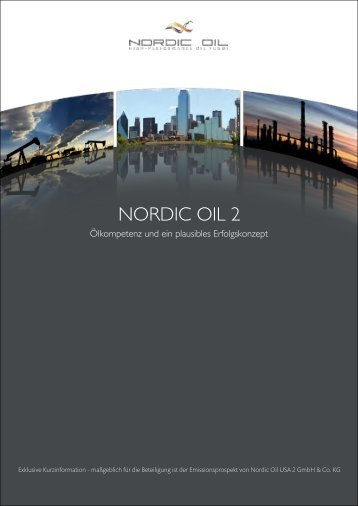 NORDIC OIL 2 - 11experts.de Homepage