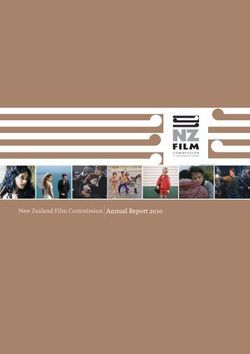 Annual Report 2009-10 - New Zealand Film Commission