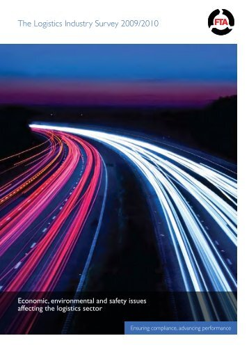 The Logistics Industry Survey 2009/2010 - Freight Transport ...