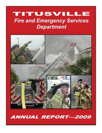 annual report-2009.pdf - The City of Titusville, Florida