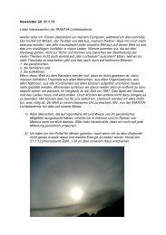 Newsletter Nr. 20 vom 31.01.2013 - Irantia