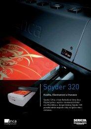 Spyder 320 - FUJIFILM SERICOL