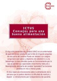 ICTUS Consejos para una buena alimentación