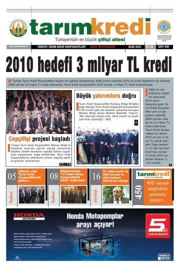 """""""Ankara Konuşuyor""""un konuğu oldu - Tarım Kredi Kooperatifleri"""