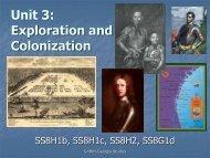 Unit 3 PPT Part 2: Colonization - It works!