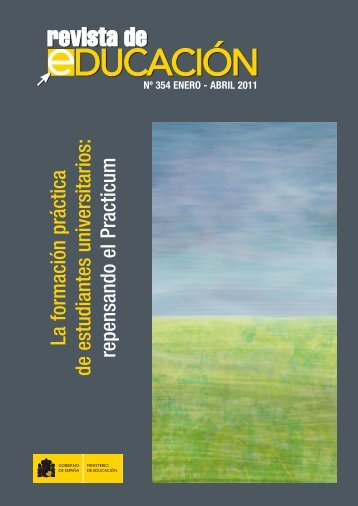 La formación práctica de estudiantes universitarios - Revista de ...