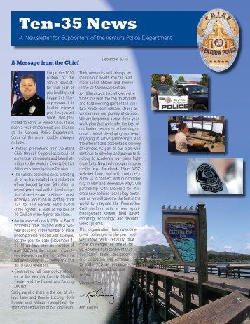Ten-35 News - City Of Ventura