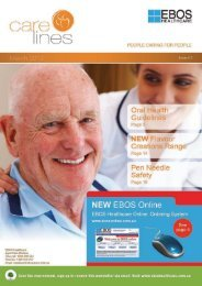 Oral Care - Guidelines for residents and carers - EBOS Healthcare