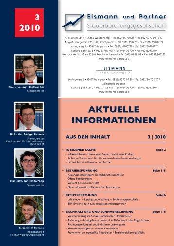 3-2010 PDF - EISMANN Rechtsanwälte