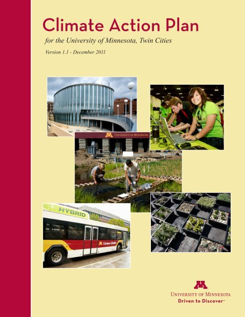 Umn Calendar 2022.Climate Action Plan For The University Of Minnesota Twin Cities