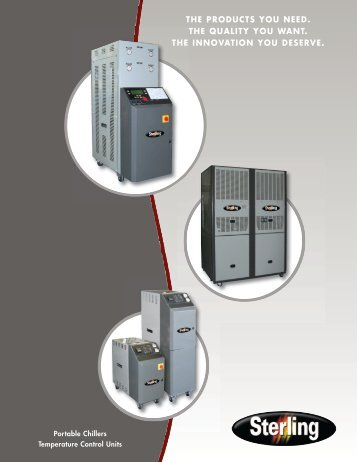 AEC Family piece - Mold Temperature Control Units - Sterling