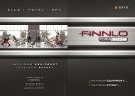 Catalog Finnlo Maximum 2012