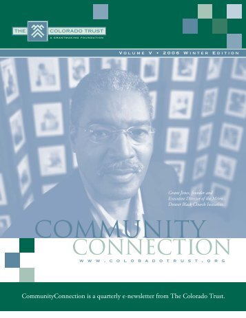2006 Winter Edition - The Colorado Trust