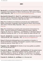 IST - Publication 1999 - Institut universitaire romand de Santé au ...