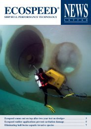 Ecospeed newsletter December 2012 - Hydrex Underwater ...