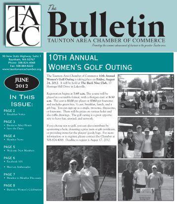 JUNE 2012 - Taunton Area Chamber Of Commerce