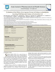 Evaluation of the Effects of an Aqueous Extract of Schinus ...