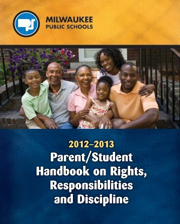 Student Rights and Responsibilities - Milwaukee Public Schools