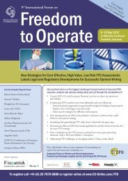 New Strategies for Cost-Effective, High Value, Low Risk FTO ... - C5