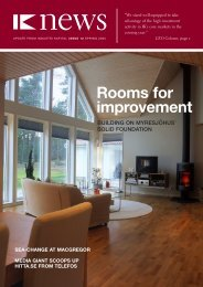 Rooms for improvement - IK Investment Partners