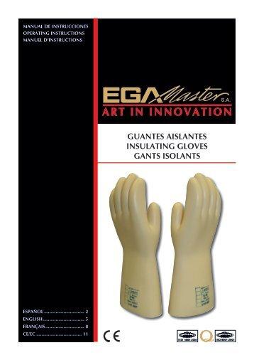 guantes aislantes insulating gloves gants isolants - Ega Master