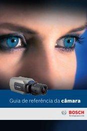 Guia de referência da câmara - Bosch Security Systems