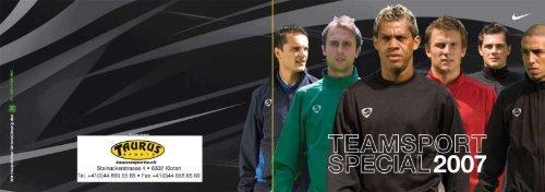 TAURUS SPORTS Teamsport Special 2007