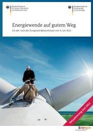Energiewende auf gutem Weg - Dr. Maria Flachsbarth